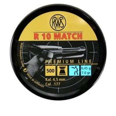 Balines 4,49 R10 Match Pistola RWS (500)