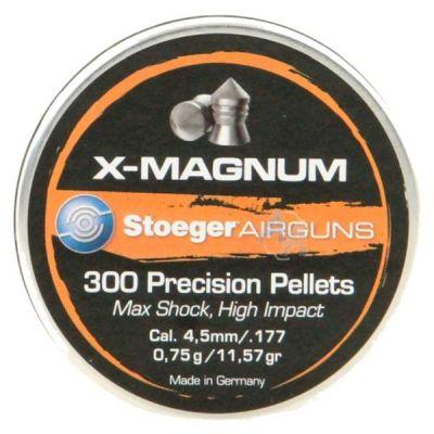 Pellet is 4,5mm X- Mag num (300u) STOEGER