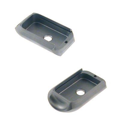 Black aluminum mag azine cover for funnel Tanfoglio Small Frame