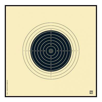 Blanco carabina 22 (25x25 cm) KLAMER