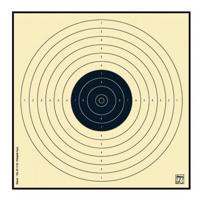 Bullseye target air pistol (17x17 cm) KLAMER