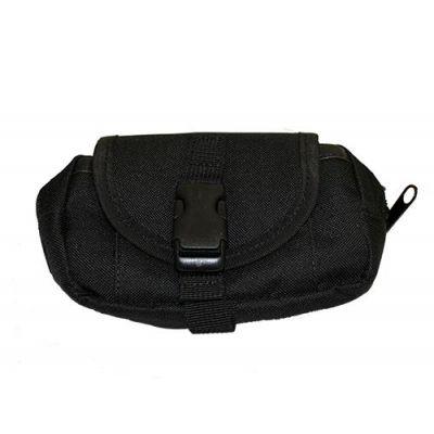 MTP horizontal multi-pocket belt bag