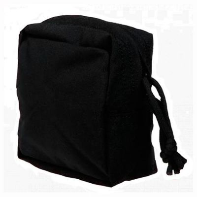 Black nylon Molle Geronimo pocket