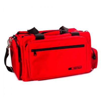 CED Deluxe red throw bag