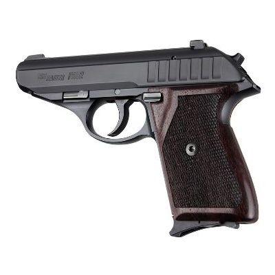 Cacha  madera palisandro rombos pistola Sig Sauer P230/P232 HOGUE