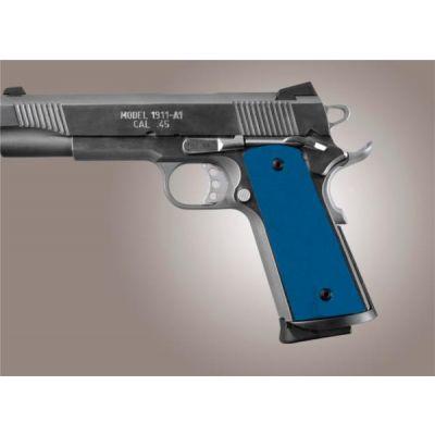 Cacha 1911 aluminio anodizado azul Hogue