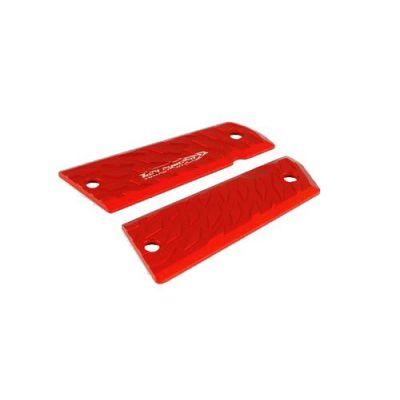 Cacha 1911 aluminio Vibram rojo para fannel TONI SYSTEM