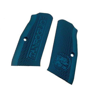 Cacha aluminio Stock azul Tanfoglio