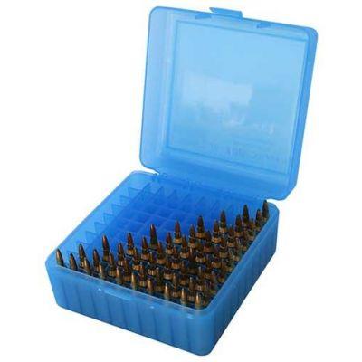 Caja MTM azul Cal. 17 a 222 (100 cart.)