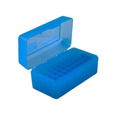 Caja MTM azul Cal. 17 a 222 (50 cart.)