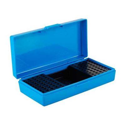 Caja MTM azul Cal. 22 (100 cart. + 2 cajas)