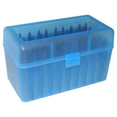 Caja MTM azul Cal. Magnum (50 cart.)