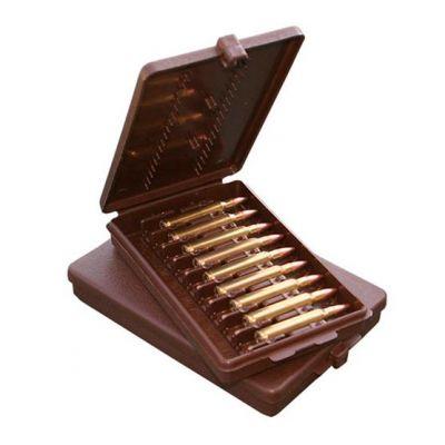 Caja MTM marron Cal. 222 a 30-30 (9 cart.)