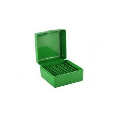 Caja MTM verde Cal. 17 a 222 (100 cart.)