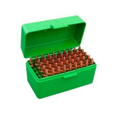 Caja MTM verde Cal. 17 a 222 (50 cart.)