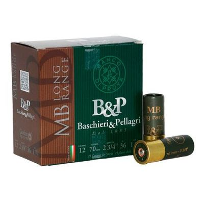 Cartridge 12 (0) 36gr MB Long Range Baschieri & Pellegri