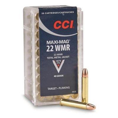 Cartridge 22 Mag num CCI
