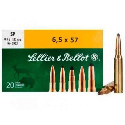 Cartridge 6,5x57 131gr SP S&B