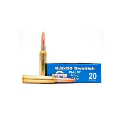 Cartridge 6,5x55 Swedish 139gr FMJ BT Prvi