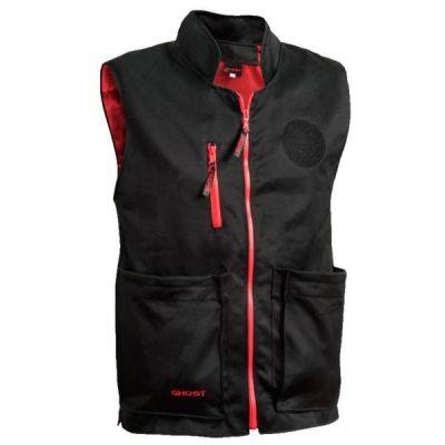 Chaleco M Ghost IDPA negro c/ interior rojo
