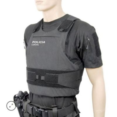 Chaleco funda confort XP negra (talla L) ITEPOL
