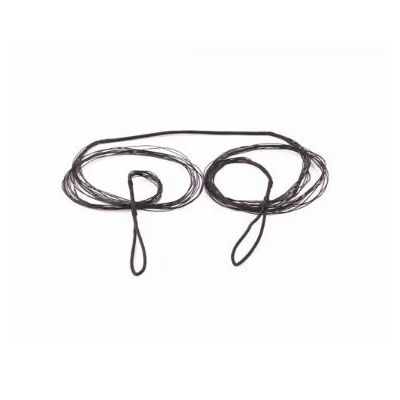 Recurve bow mounting rope