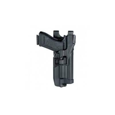 Glock 17 Holster with Serpa L3 Blackhawk Flashlight