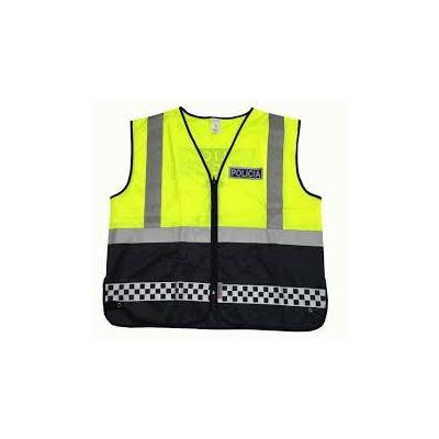 Chaleco Policia reflectante Satara