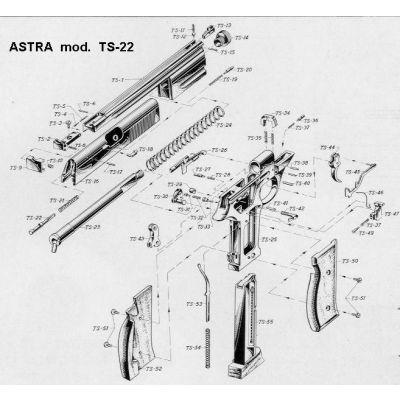 Alza pistola TS 22 ASTRA