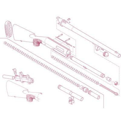 Kit prolongador cargador escopeta Nova BENELLI