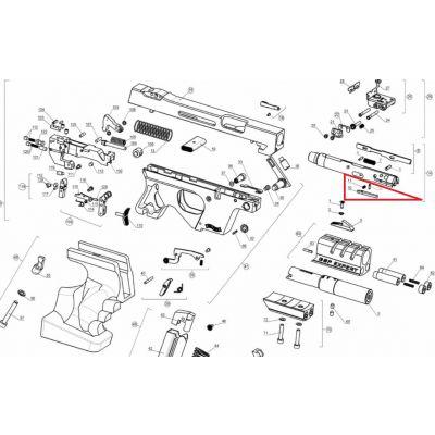 Muelle extractora pistola OSP de Walther