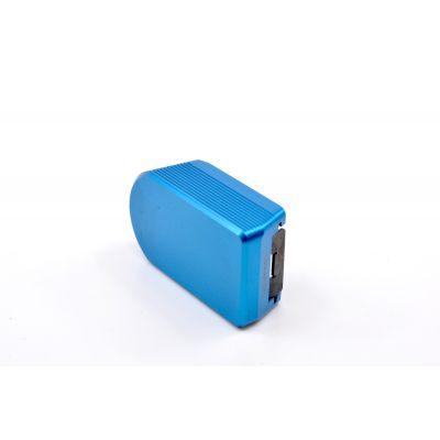 Tapa cargador Shadow II azul Armanov