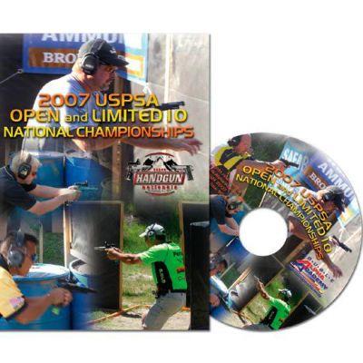 DVD 2007 OPEN / Limited 10 uspsa nationals