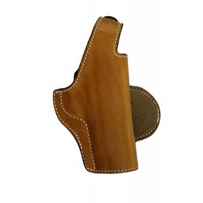Holster 1911 brown leather with clip