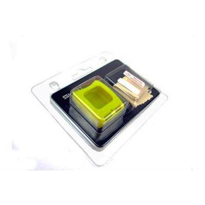 Funda silicona Shotmaxx amarilla