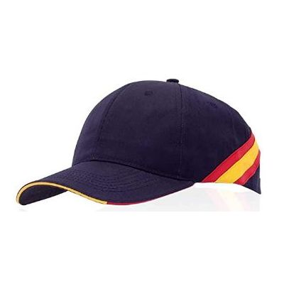 Navy blue Spain flag cap