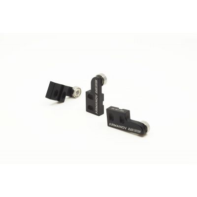Collar slider XL650 Dillon black Armanov
