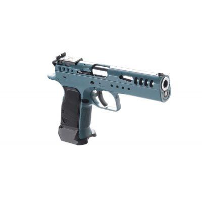 Pistol 9 Limited Custom Teal Blue Tanfoglio