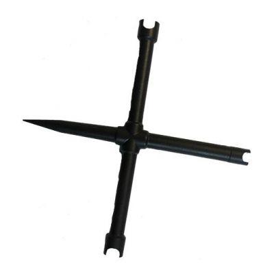 Llave chimeneas cruz 3 boquillas 1 atornillador PEDERSOLI