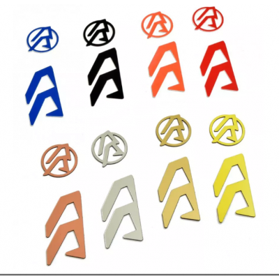 Gray Alpha-X DAA holster logo