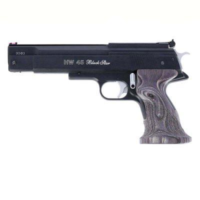4.5 HW45 Black Star Weihrauch Pistol