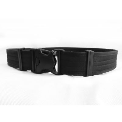 Reinforced belt with triple safety closure 100cm
