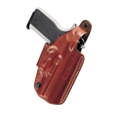 Funda cuero Glock 17/22/19/23 marron VEGA
