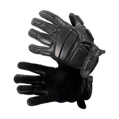 Guante cuero S proteccion dorso/dedos