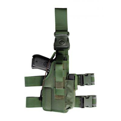 Vega green Holster thigh holster