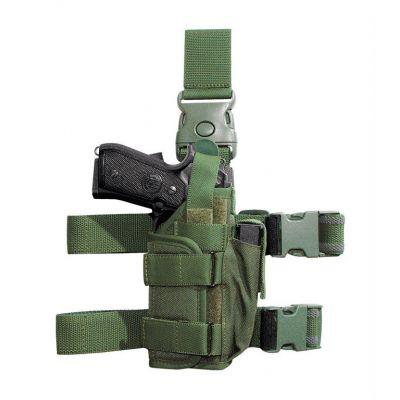 Holster rev-pist leg with laser and flashlight VEGA