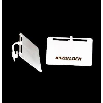 Pantalla lateral blanca 40mm Knobloch