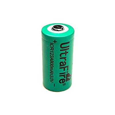 Pila recargable CR123 800 mAh Ultrafire