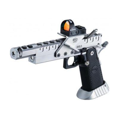 Pistola 9 SAS II UR Heavy Metal c/ visor BUL
