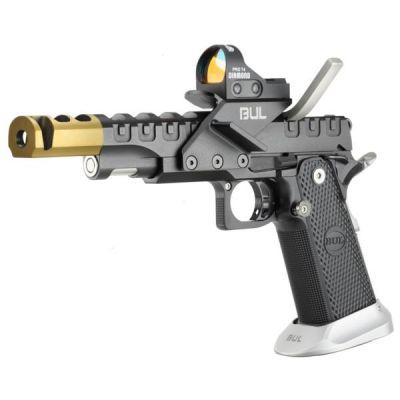 Pistola 9 SAS II UR Negra Golden Barrel s/visor Bul